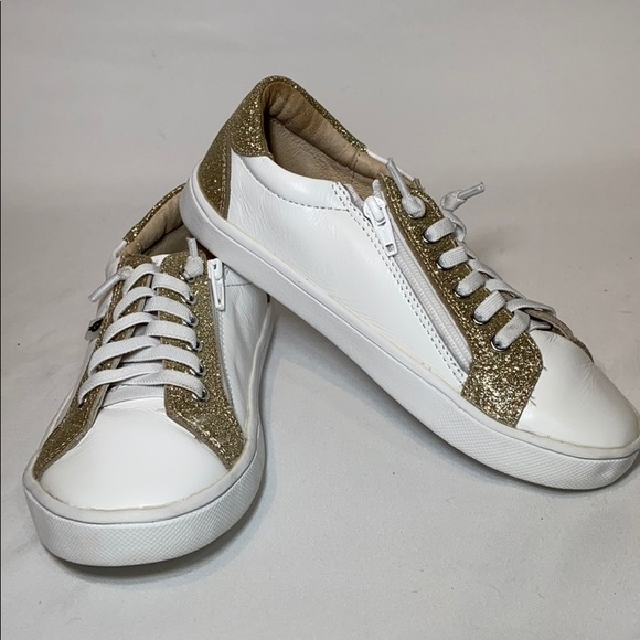 OLDSOLES Other - OLDSOLES girls Glamfull Leather Sneakers, 32 EU